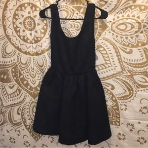 Simply Vera Wang black formal mini dress